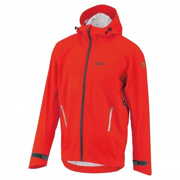Louis Garneau 4 Seasons Hoodie Jacket Color: Flame
