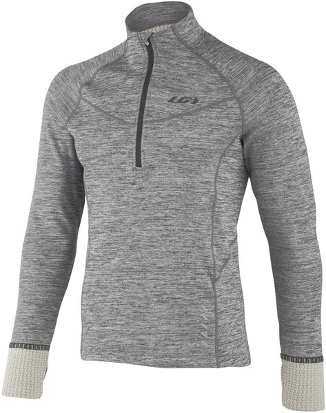 Louis Garneau 4002 Zip Neck Color: Heather Gray