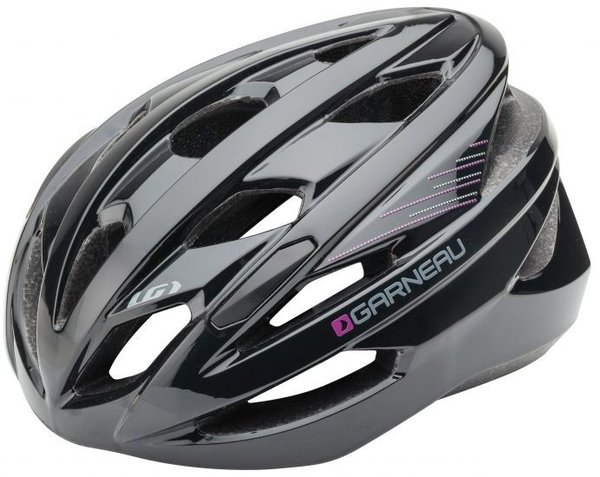 Garneau Women's Amber Cycling Helmet Color: Black/Purple