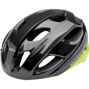 Garneau Asset Cycling Helmet Color: Gray/Yellow