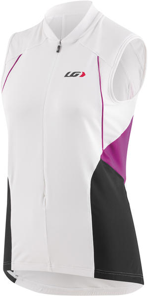 Louis Garneau Beeze Vent Sleeveless Jersey Color: White