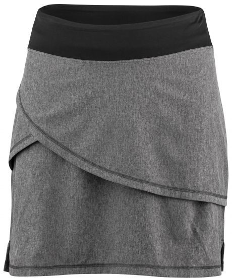 Louis Garneau Women's Bormio Cycling Skirt Color: Asphalt