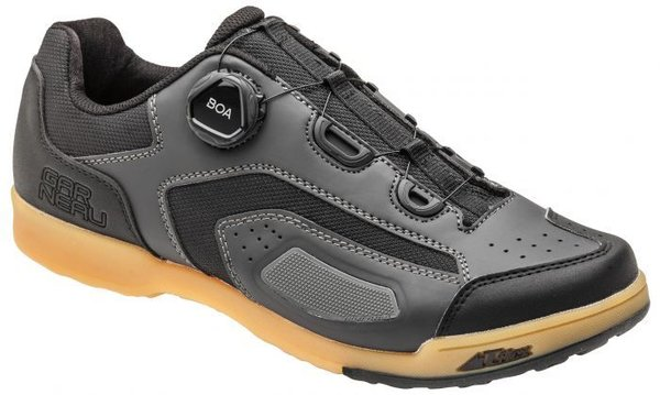 Louis Garneau Cobalt Boa Shoes Color: Asphalt