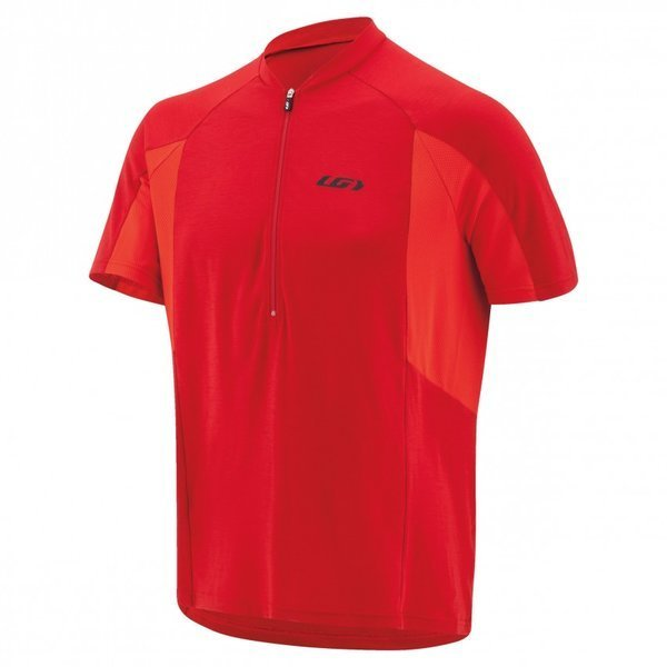 Louis Garneau Connection Cycling Jersey Color: Barbados Cherry