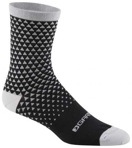 Louis Garneau Conti Long Cycling Socks Color: Black Gray
