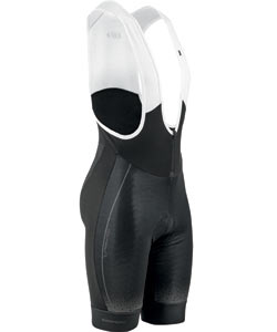 Louis Garneau Course Thermal Bib Shorts Color: Black/Gray