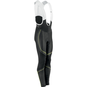 Garneau Course Elite Cycling Bib Tights Color: Black/Bright Yellow