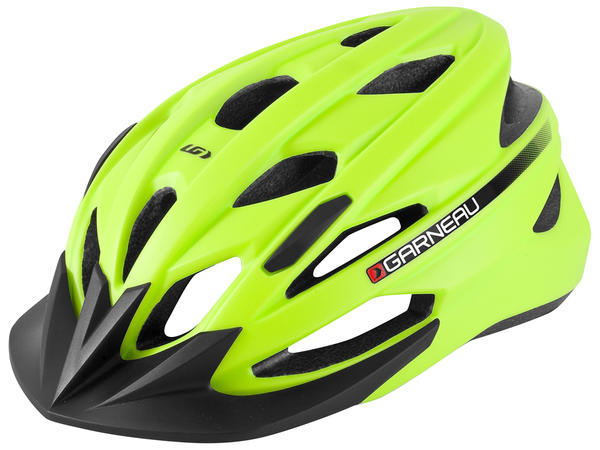 Louis Garneau Eagle Helmet Color: Fluo Yellow