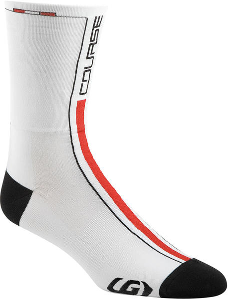 Louis Garneau Course Socks Color: White