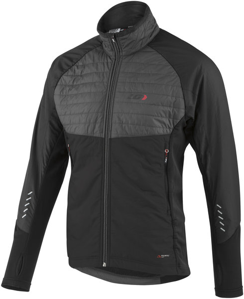 Louis Garneau Cove Hybrid Jacket Color: Black/Gray