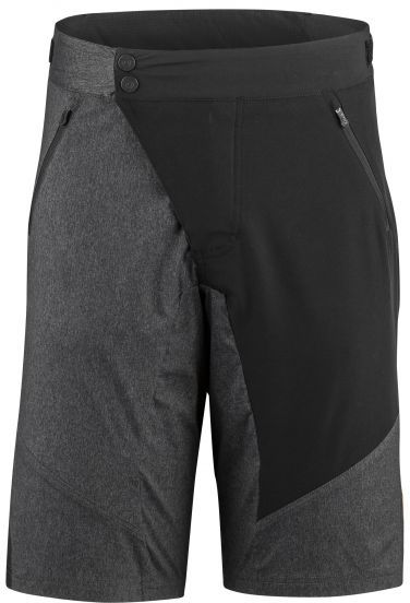 Louis Garneau Dirt Shorts Color: Black/Gray