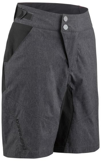 Louis Garneau Dirt Jr Cycling Shorts Color: Black/Gray