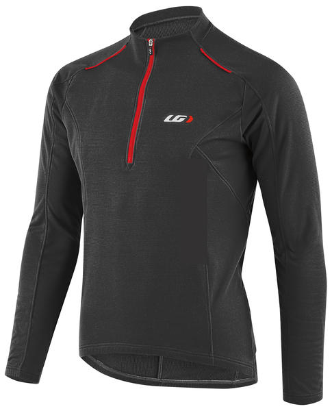 Garneau Edge CT Cycling Jersey Color: Black/Red