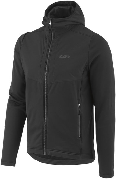 Louis Garneau Edge Hoodie Color: Black