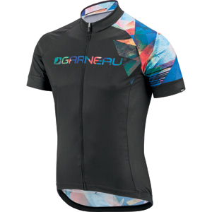 Garneau Equipe Cycling Jersey Color: Expressionist