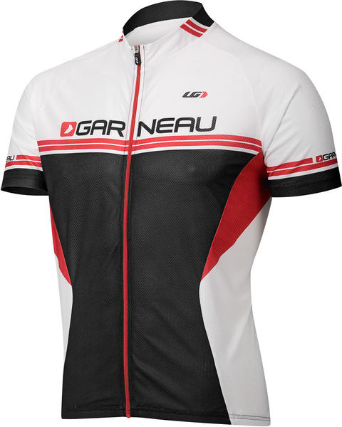 Louis Garneau Equipe Jersey Color: Black/Red