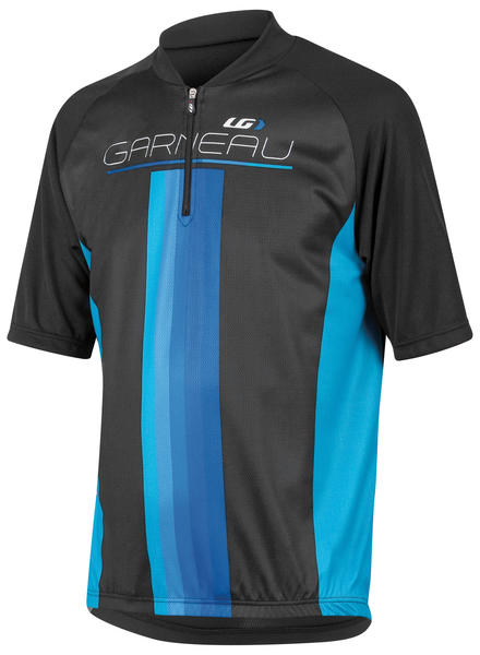 Garneau Equipe Junior Jersey Color: Black/Blue