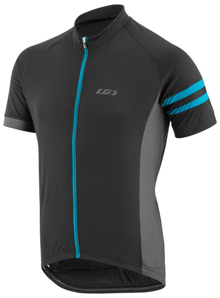 Louis Garneau Evans Classic Cycling Jersey Color: Black/Blue