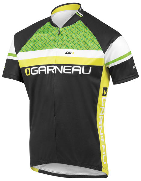 Louis Garneau Limited Jersey Color: Black/Green
