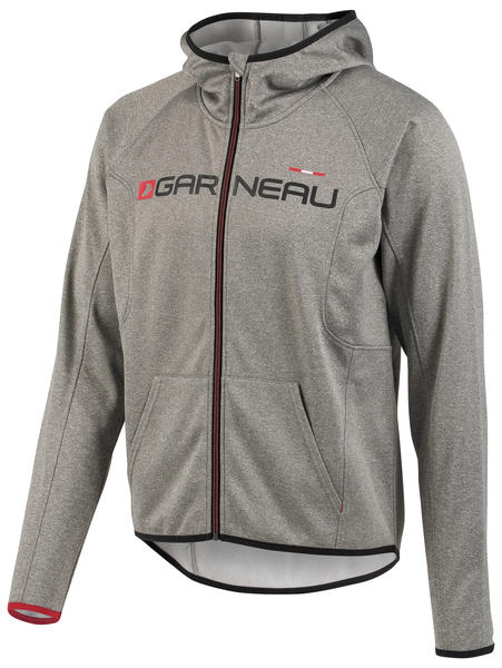 Garneau Factory Hoodie Color: Gray/Black