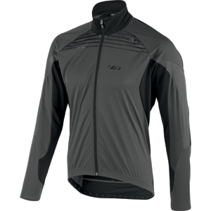 Garneau Glaze RTR Jacket Color: Black/Gray