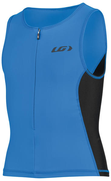 Louis Garneau Jr Comp 2 Sleeveless Triathlon Top Color: Curacao Blue