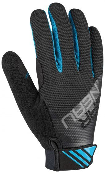 Garneau Junior Elan Gel Cycling Gloves Color: Blue Jewel