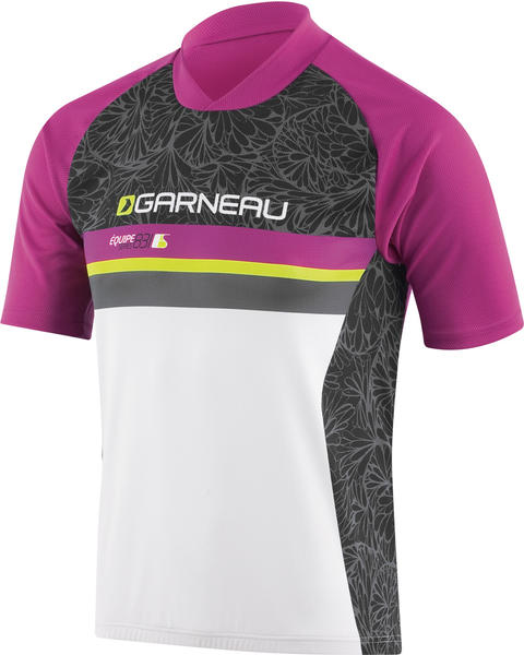 Louis Garneau Junior Jersey Color: Black/Purple/White