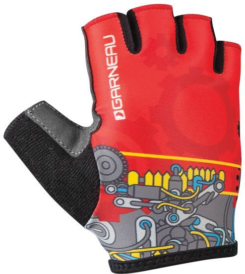 Garneau Kid Ride Cycling Gloves Color: Mechanic
