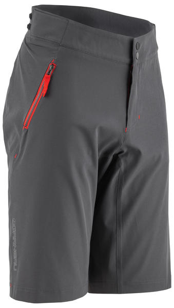 Louis Garneau Leeway Short Color: Asphalt