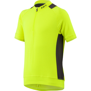 Garneau Lemmon Jr Cycling Jersey Color: Bright Yellow