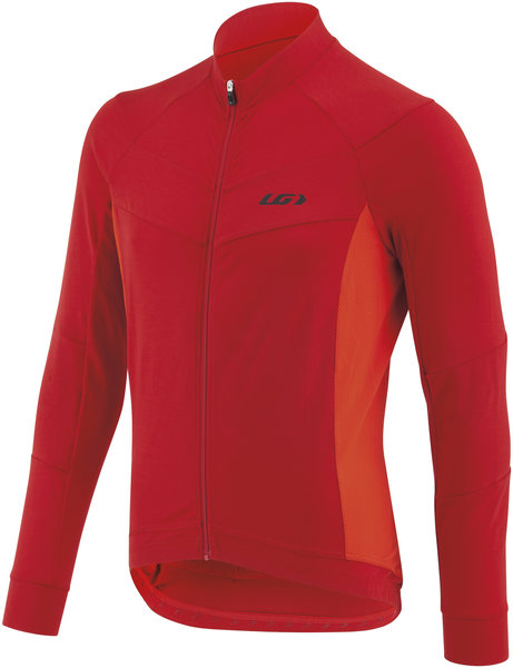 Garneau Lemmon LS Cycling Jersey Color: Barbados Cherry
