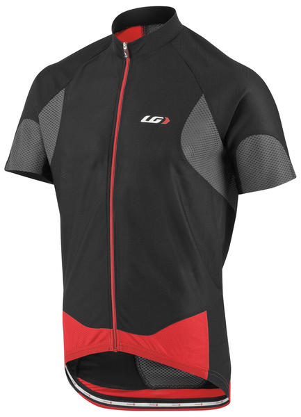 Louis Garneau Metz Lite Jersey Color: Black/Gray/Red