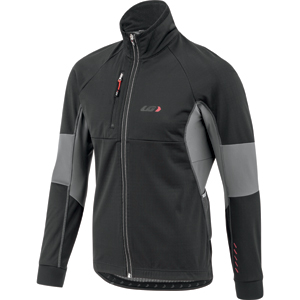 Louis Garneau LT Enerblock Jacket Color: Black/Gray