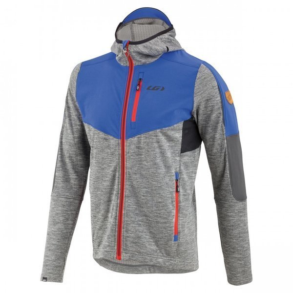 Garneau Mid Season Hoodie Color: Grey/Blue