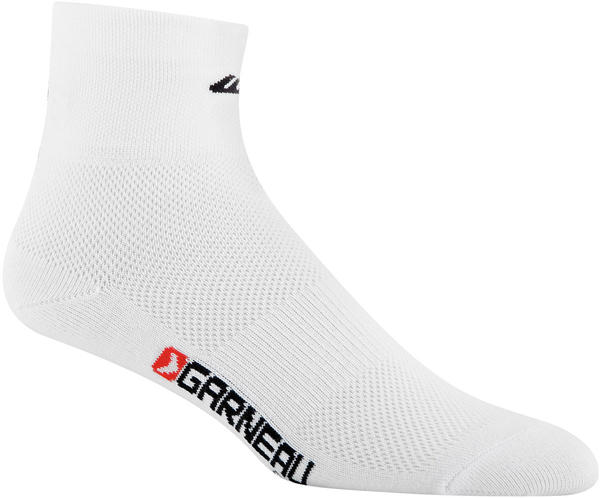 Garneau Mid Versis Cycling Socks (3-pack) Color: White