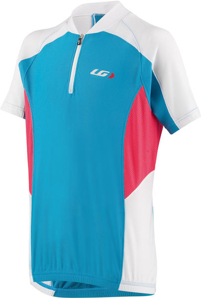 Louis Garneau Mistral Vent Jr Jersey Color: Atomic Blue