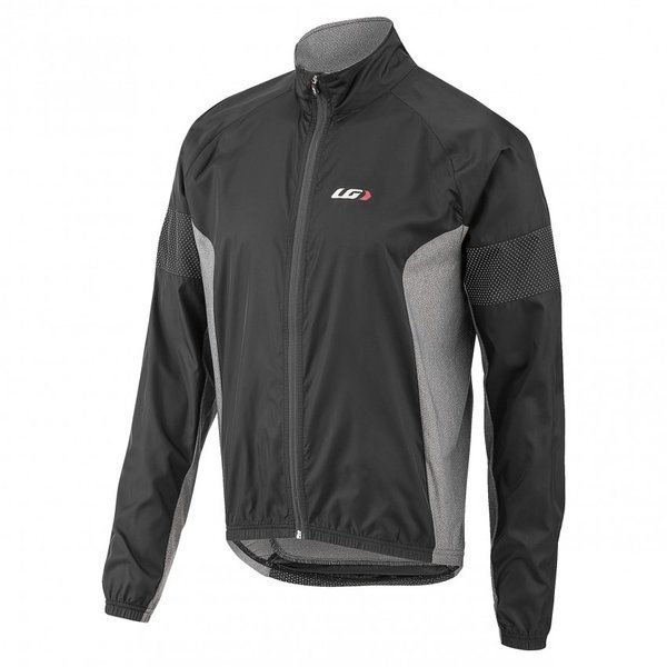 Louis Garneau Modesto Cycling 3 Jacket Color: Black/Gray