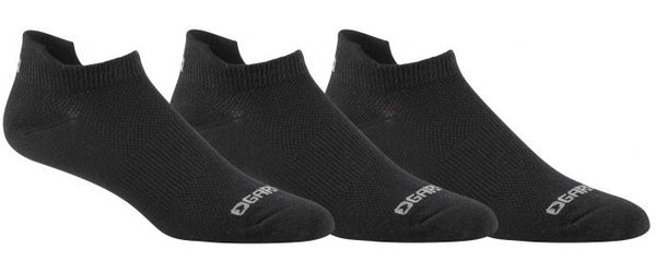 Garneau No Show Versis Socks 3-pack