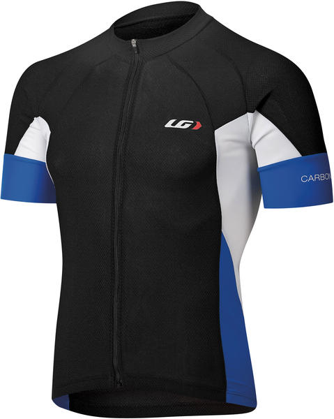 Louis Garneau Carbon Jersey Color: Black/Royal