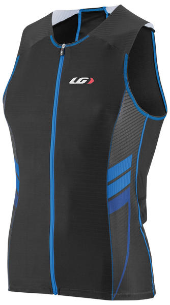 Louis Garneau Pro Carbon Comfort Top Color: Black/Blue