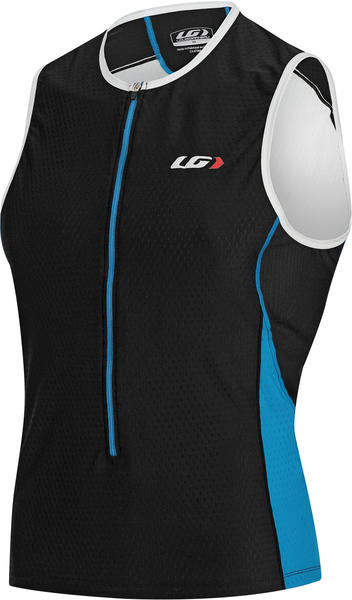 Louis Garneau Pro SL Semi-Relaxed Jersey Color: Black/Cyan