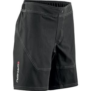 Louis Garneau Range Shorts Junior Color: Black