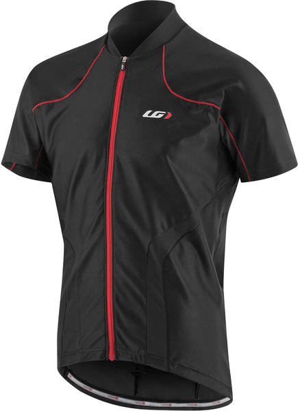 Garneau Sideburn Jersey Color: Black/Red