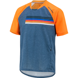 Garneau Span Cycling Jersey Color: Blue/Multi