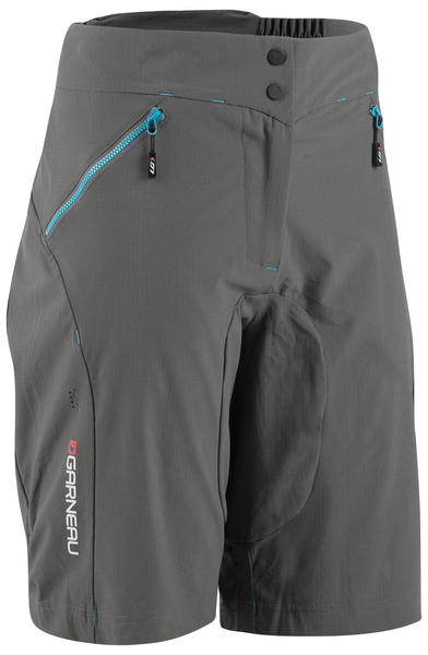 Garneau Stream Zappa MTB Shorts - Women's Color: Asphalt