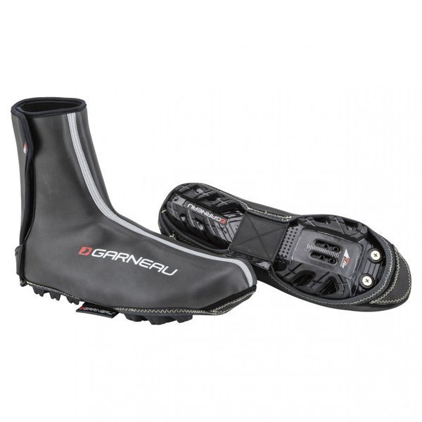 Louis Garneau Thermax II Cycling Shoe Covers Color: Black