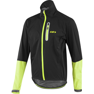 Louis Garneau Torrent RTR Jacket Color: Black/Yellow