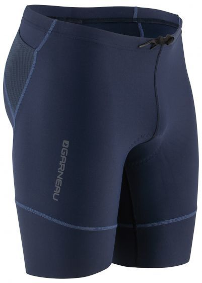 Garneau Tri Comp Triathlon Shorts Color: Black Navy/Blue