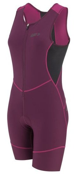 Garneau Women's Tri Comp Triathlon Suit Color: Black/Pink/Purple